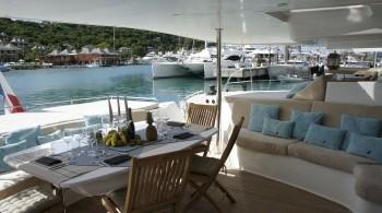 Noleggio charter catamarano grecia cicladi ioniche con for Catamarani di lusso