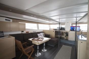 Noleggio charter catamarano grecia cicladi con for Catamarani di lusso